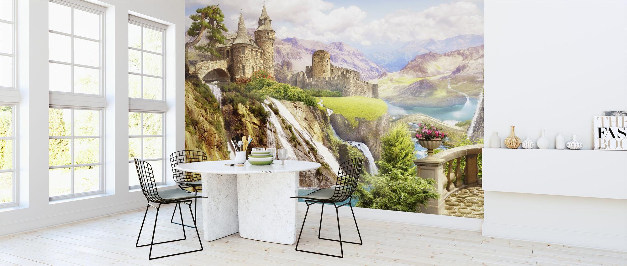 Magisch landschap - Behang - Keuken