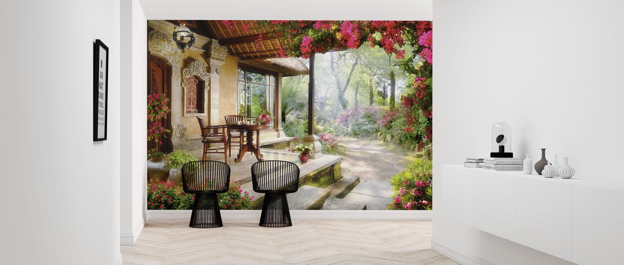 Lovely Garden - Wallpaper - Hallway