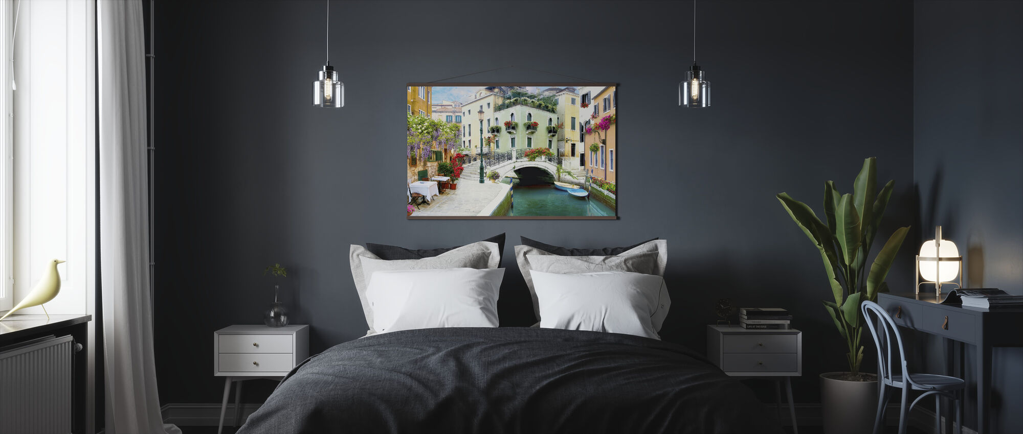 Venice Bridge - Poster - Bedroom