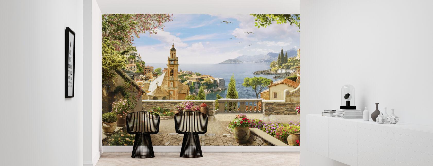 Stunning View of Amalfi - Wallpaper - Hallway
