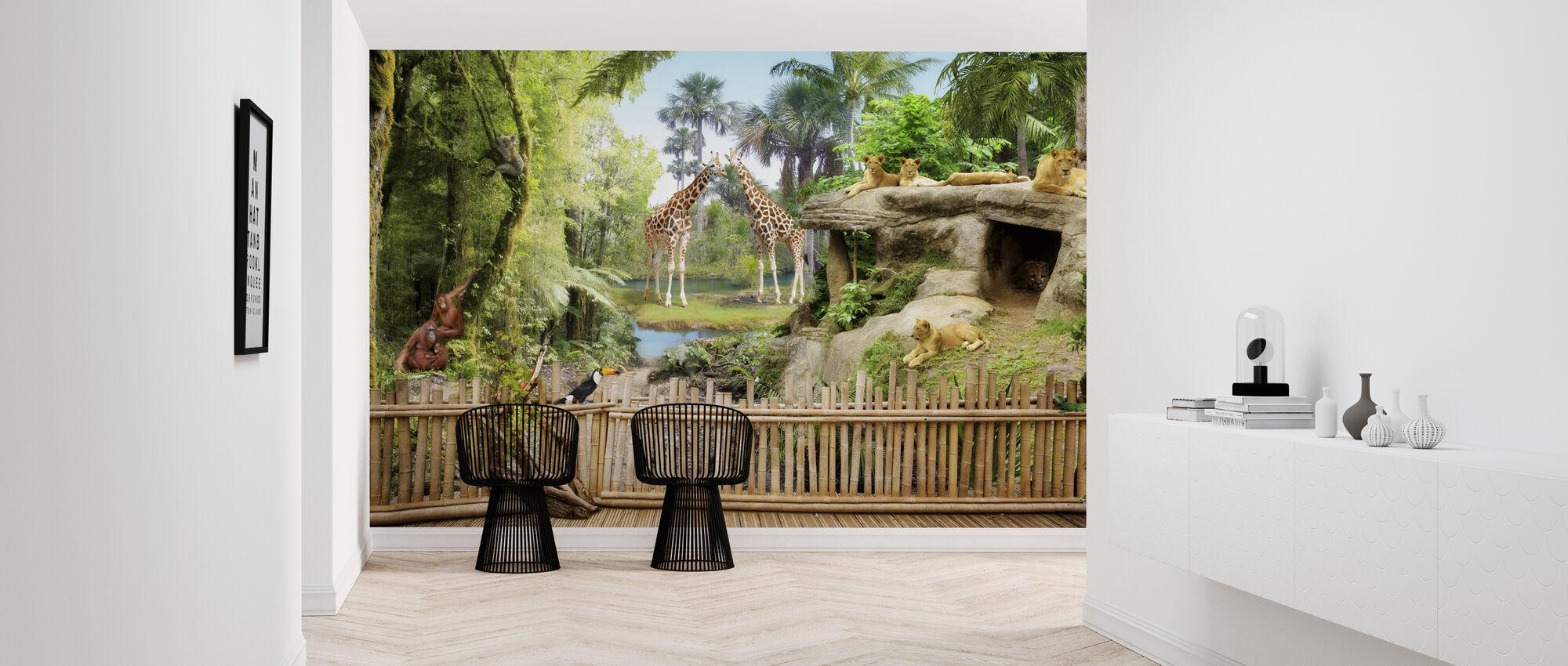 Zoo Dyr - Tapet - Entré