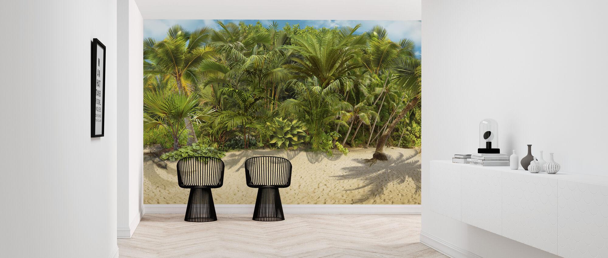 Tropical Island - Wallpaper - Hallway