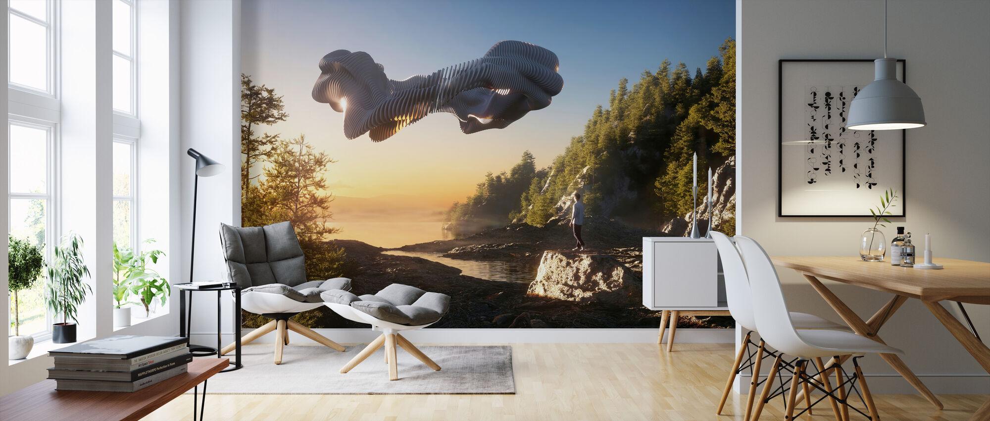 Elixir - Wallpaper - Living Room