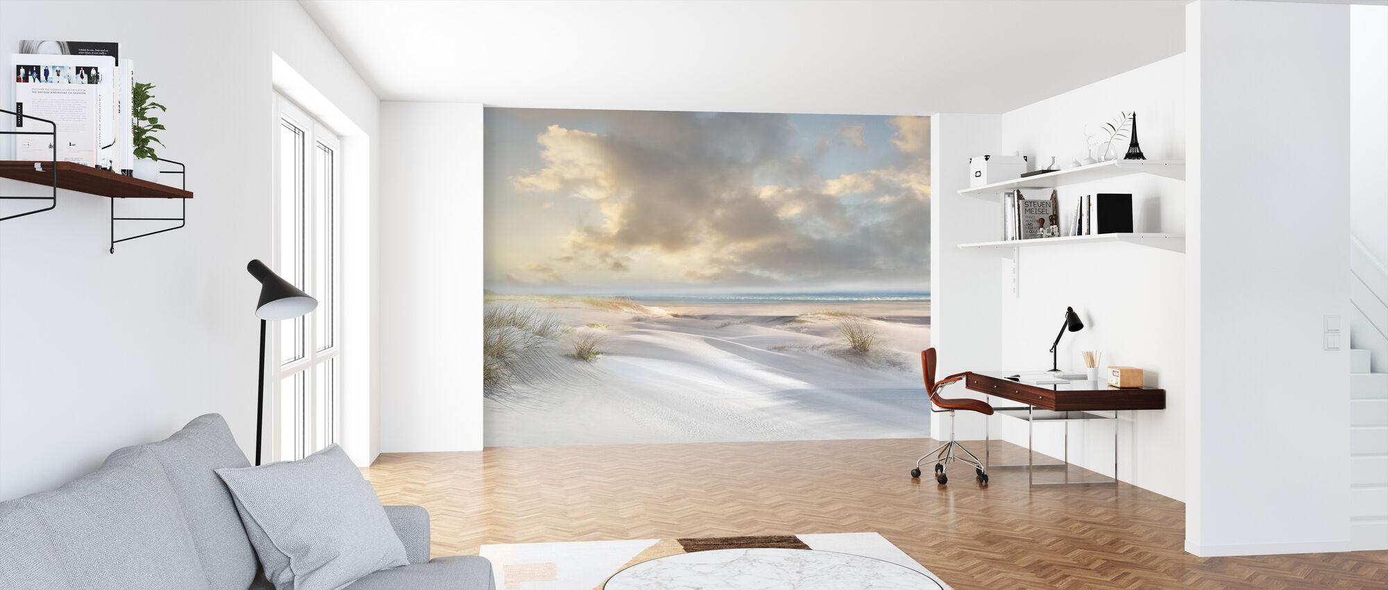 Sand Dunes Beach - Wallpaper - Office
