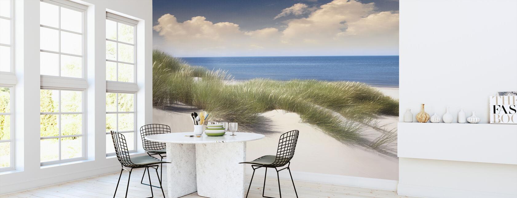Grassy Sand Dunes - Wallpaper - Kitchen