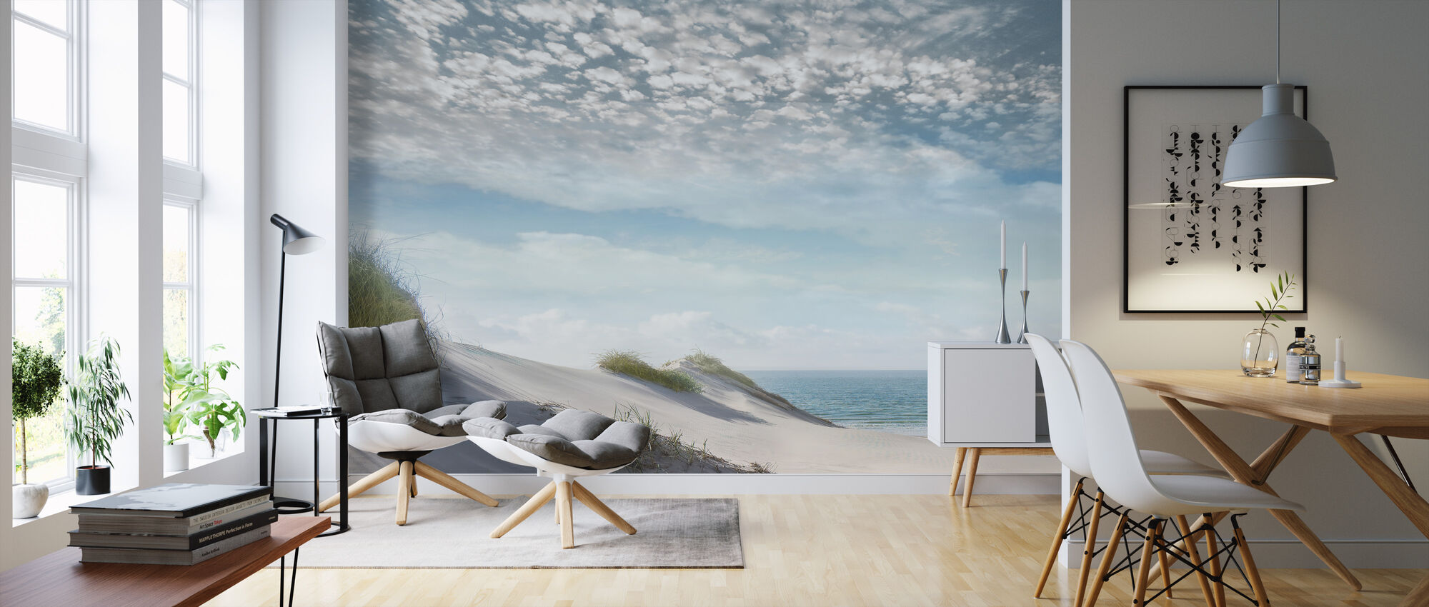 Thin Clouds - Wallpaper - Living Room