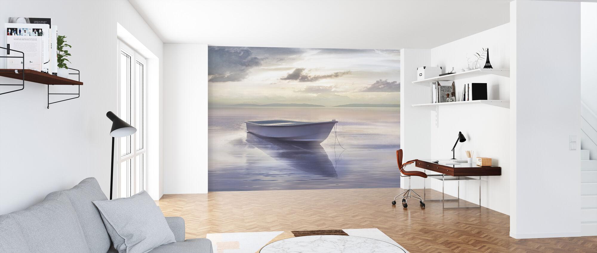 Rowbot on Still Water - Wallpaper - Office