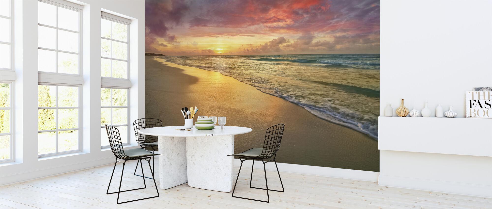 Sunset Beach - Wallpaper - Kitchen