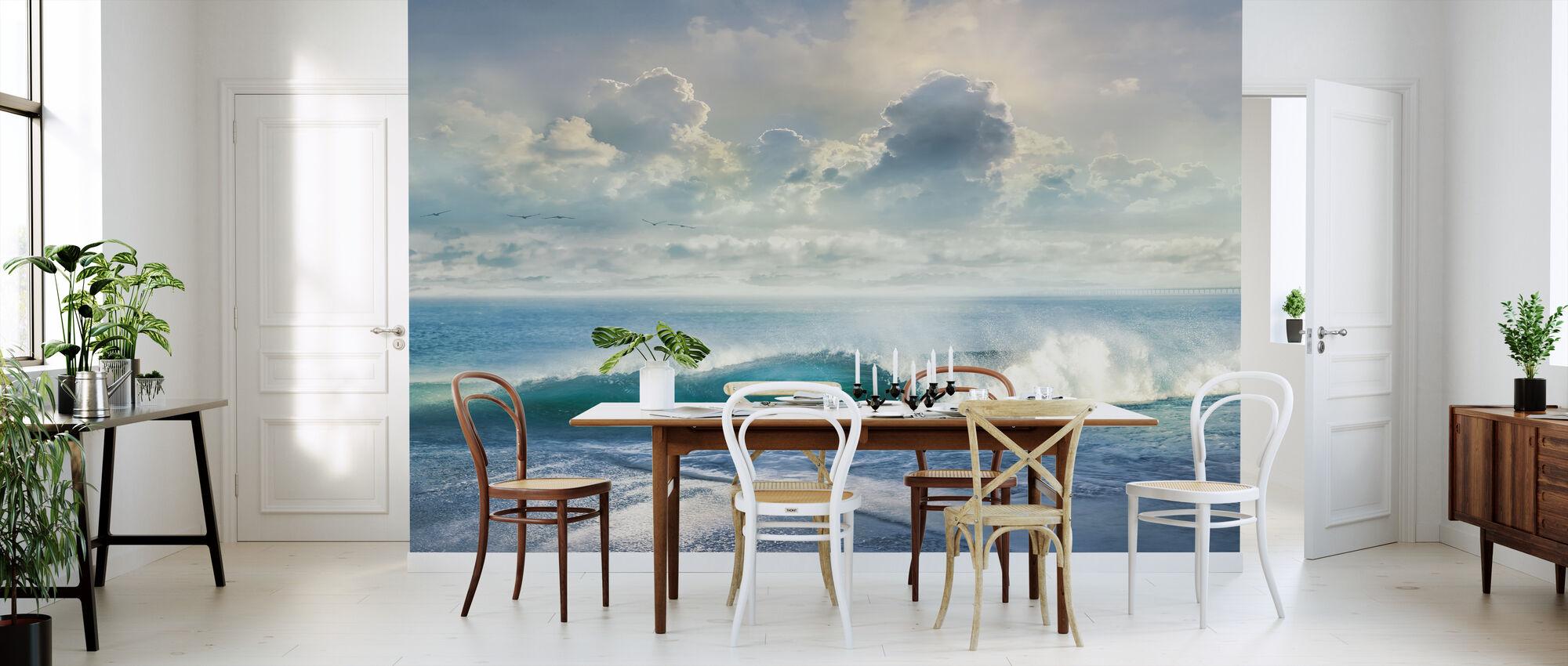 Stormy Sea - Wallpaper - Kitchen