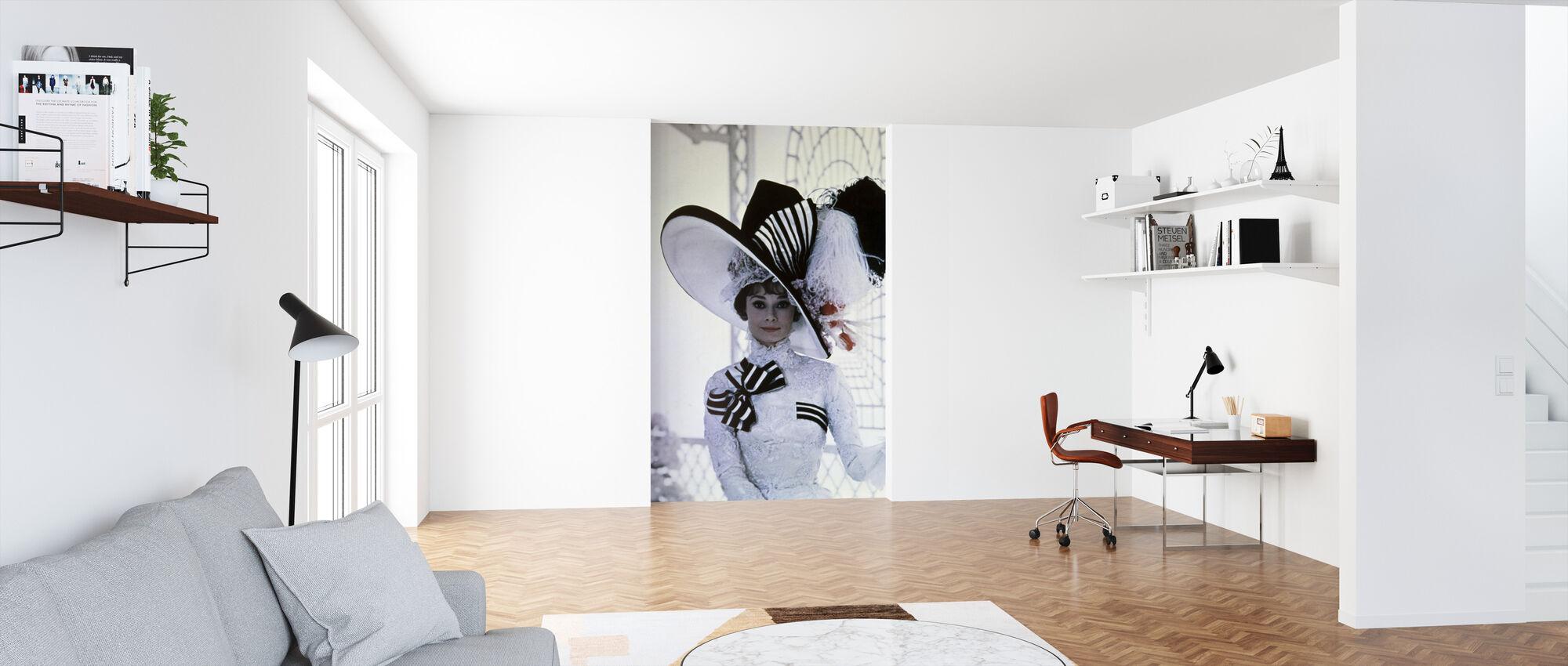 Min Fair Lady - Audrey Hepburn - Tapet - Kontor
