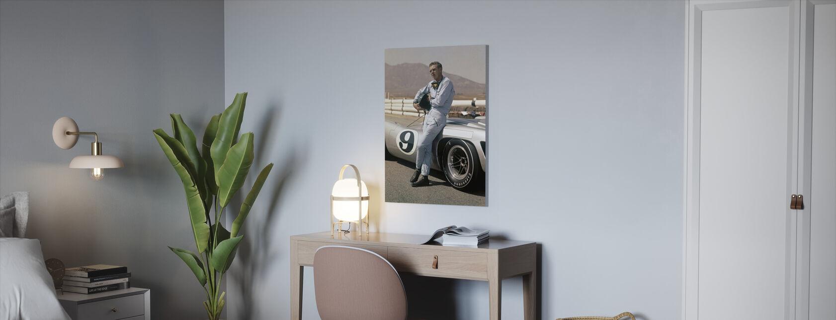 Le Mans - Steve McQueen - Canvas print - Kantoor