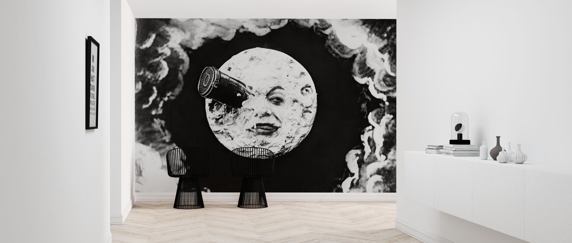 Voyage to the Moon - Georges Melies - Wallpaper - Hallway