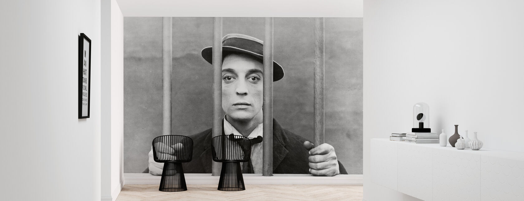 Goat - Buster Keaton - Wallpaper - Hallway