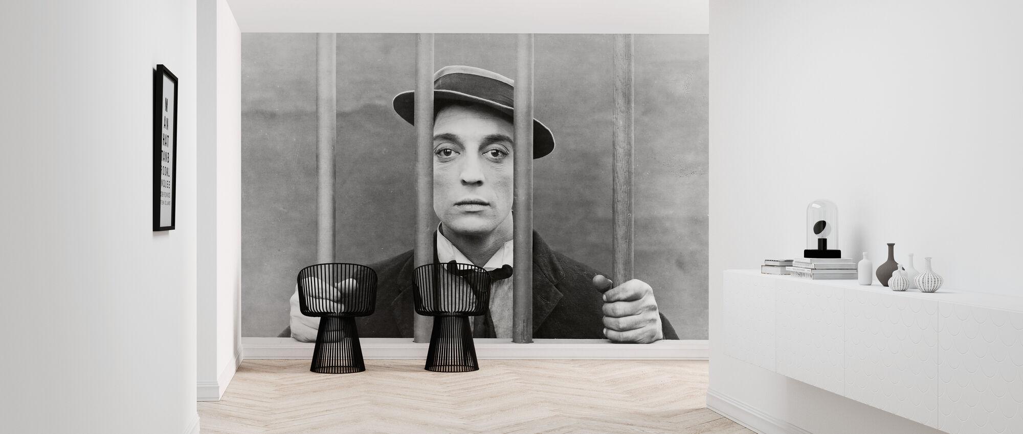 Geit - Buster Keaton - Behang - Gang