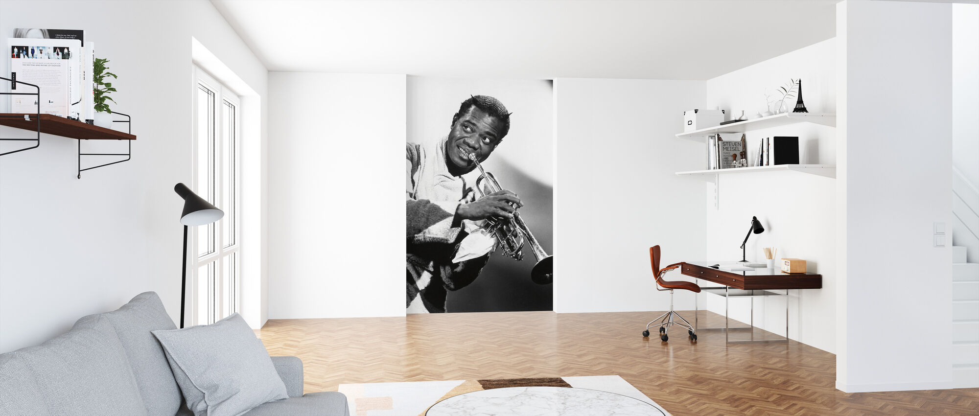 Cabin in the Sky - Louis Armstrong - Wallpaper - Office