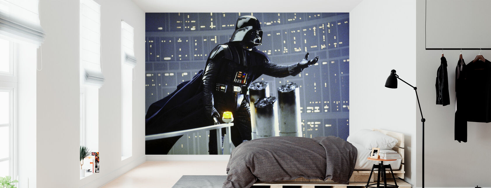 Darth Vader Darkside - David Prowse - Papel pintado - Dormitorio