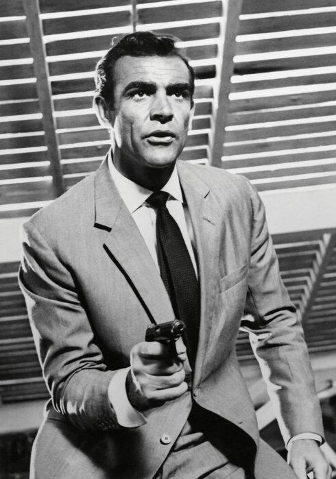 James Bond Sean Connery Designer Canvas Print Photowall