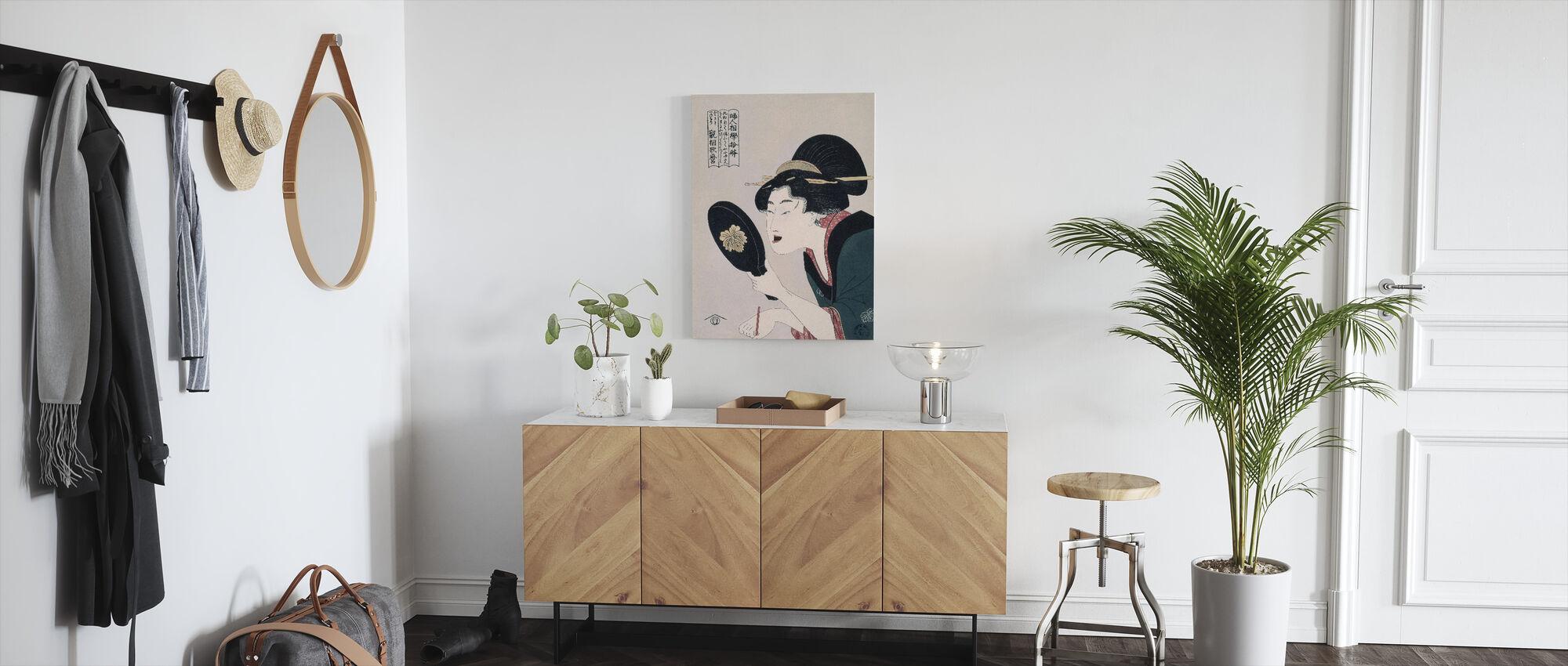 Tsuruya Kimon - Kitagawa Utamaro - Canvas print - Gang