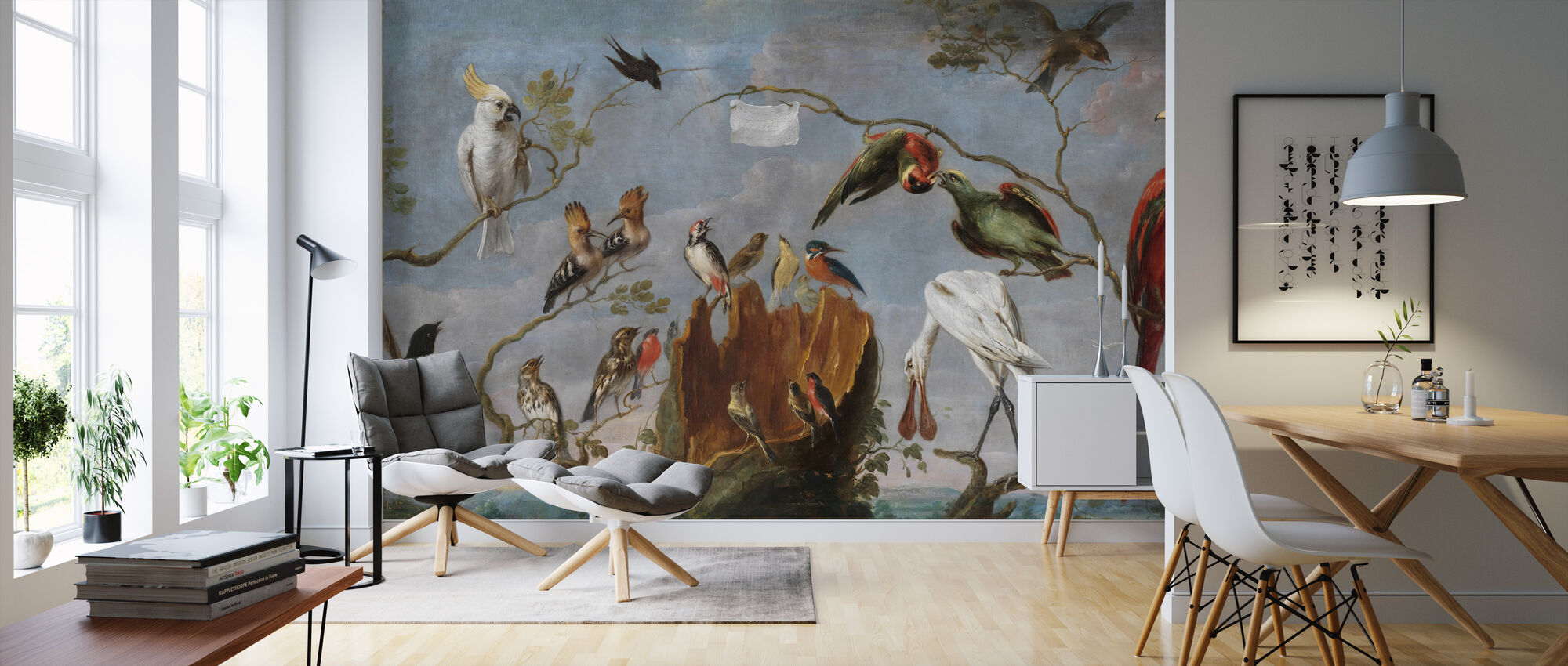 Birds Concert - Frans Snyders - Wallpaper - Living Room