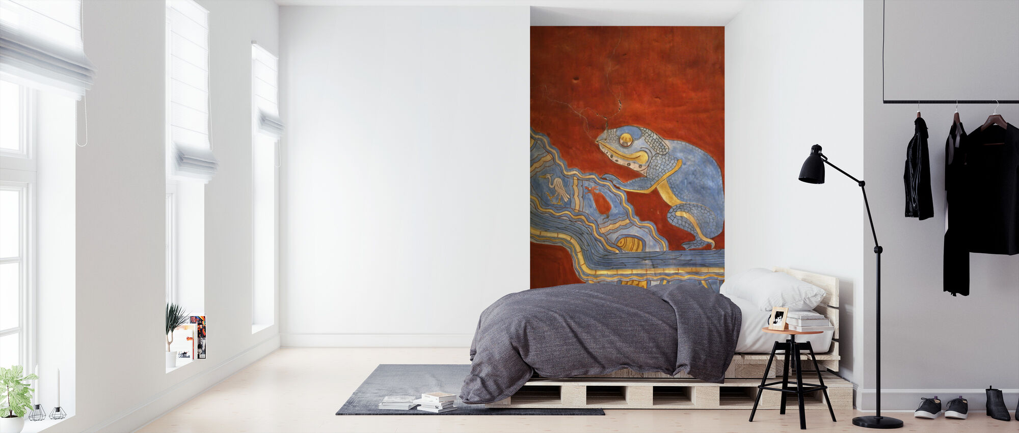Mornings in Mexico – D HLawrence - Wallpaper - Bedroom