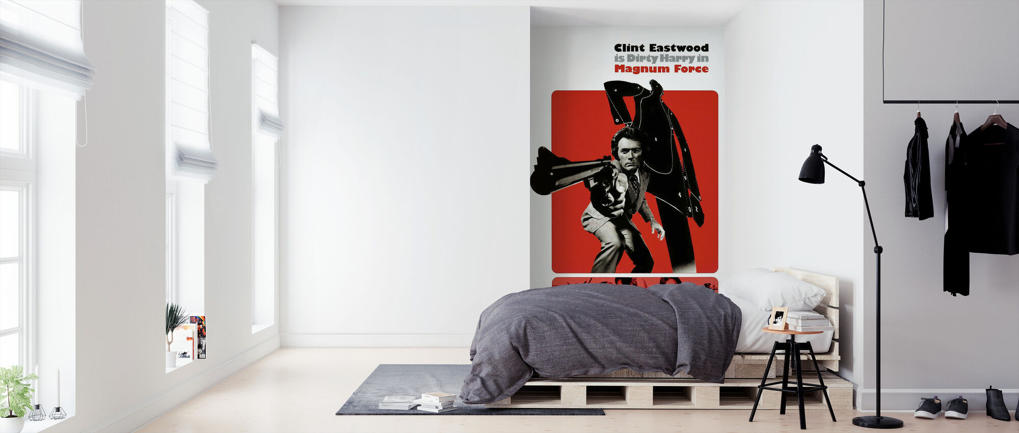 Magnum Force - Clint Eastwood - Wallpaper - Bedroom