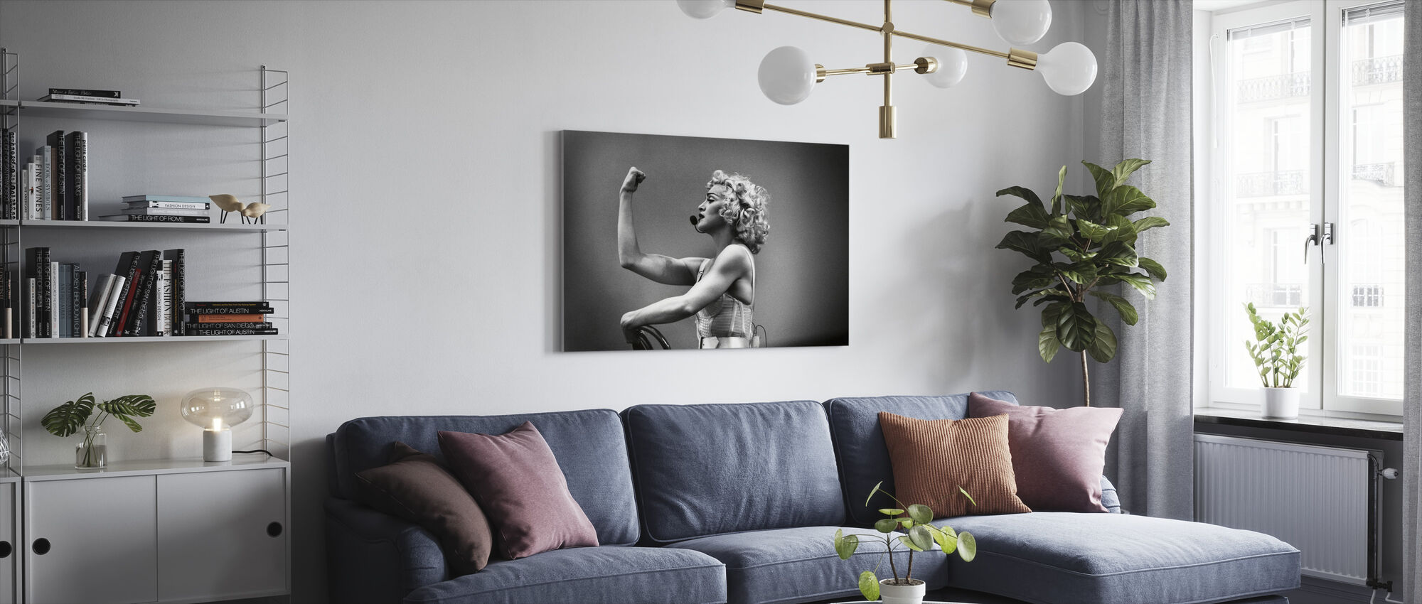 Express Yourself - Madonna - Canvas print - Living Room