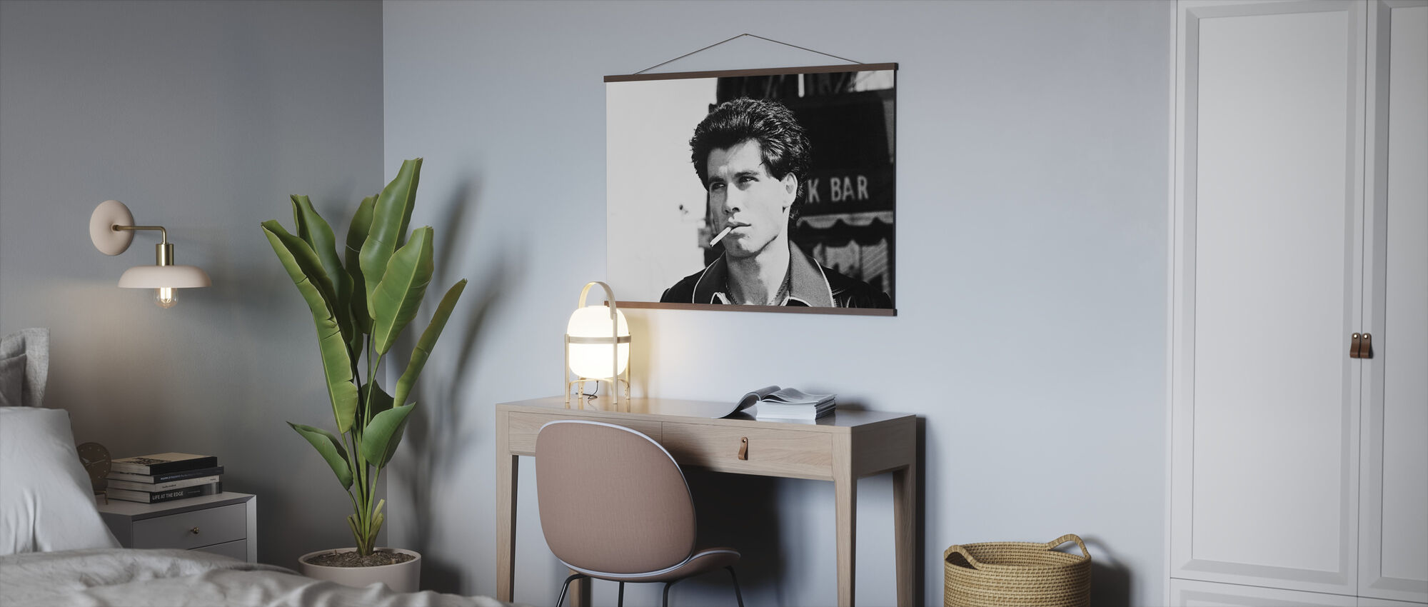 zaterdagavond Fever - John Travolta - Poster - Kantoor