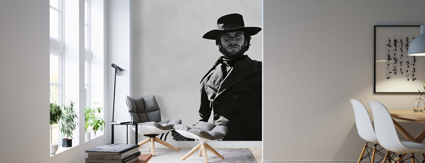High Plains Drifter - Clint Eastwood - Wallpaper - Living Room