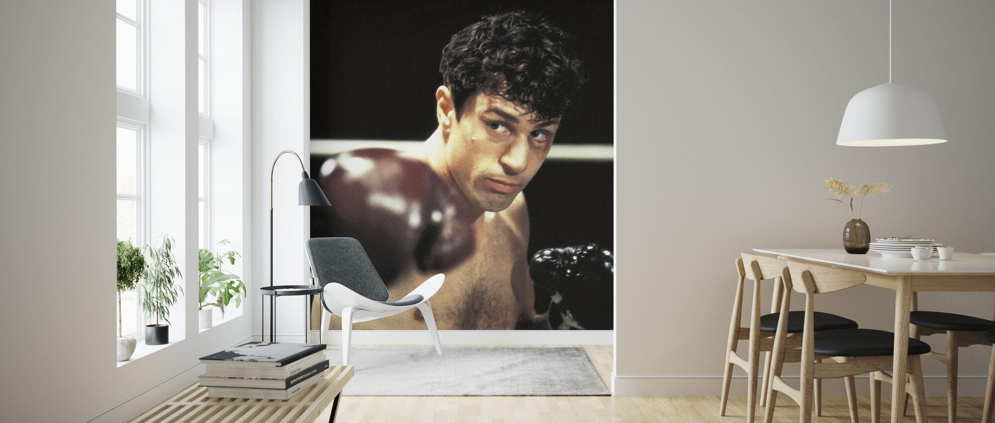 Raging Bull boksing - Robert De Niro - Tapet - Stue