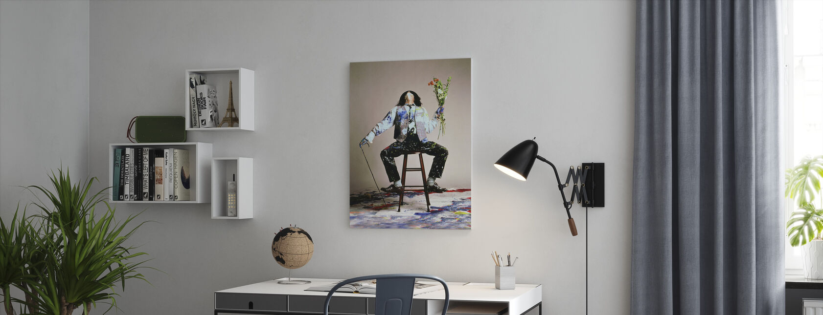 Benny and Joon - Johnny Depp - Canvas print - Office