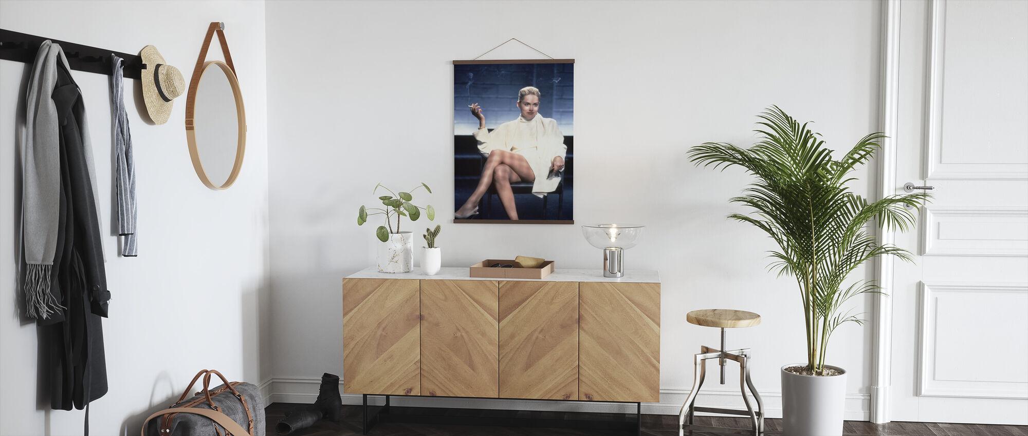 Basic Instinct - Sharon Stone - Poster - Hallway