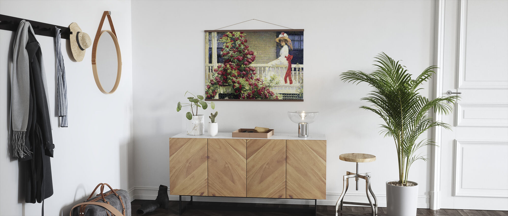 Crimson Rambler- Philip Leslie Hale - Poster - Hall