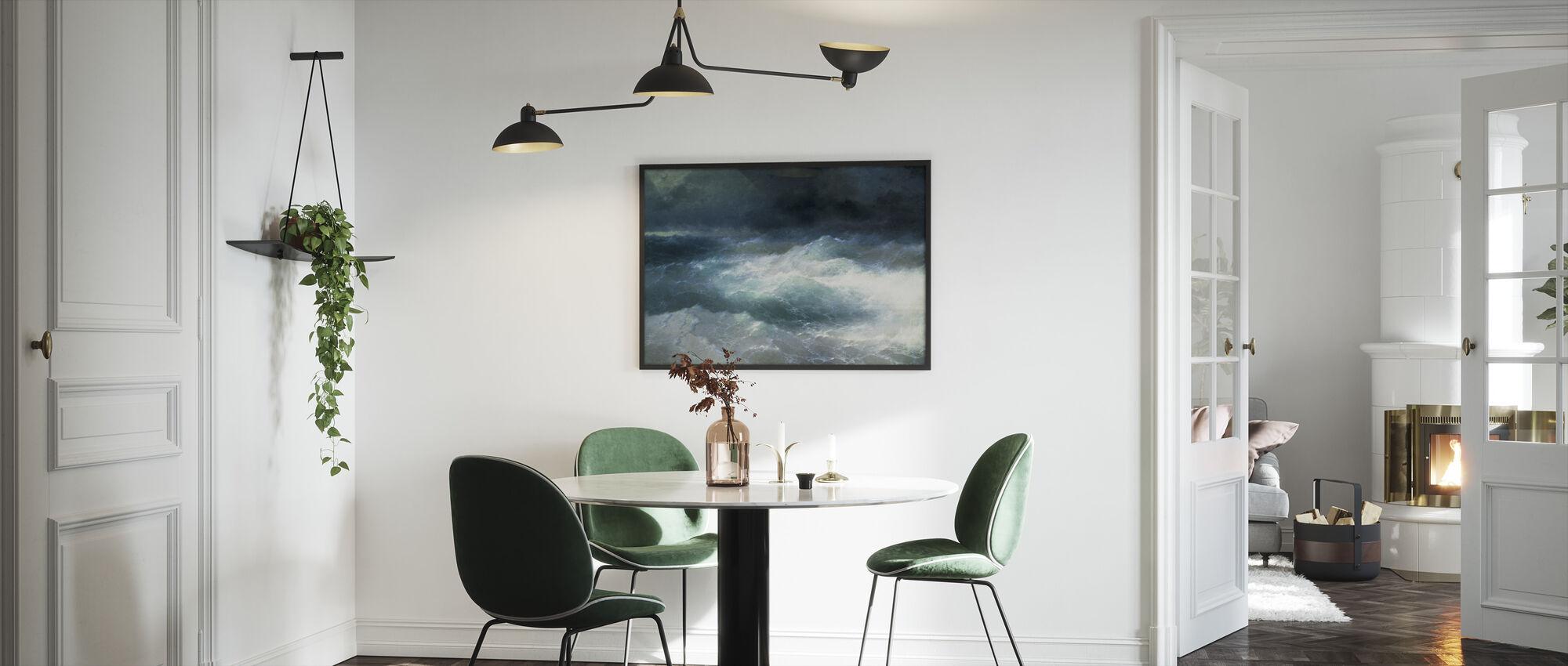 Between the Waves - Ivan Aivazovsky - Framed print - Kitchen