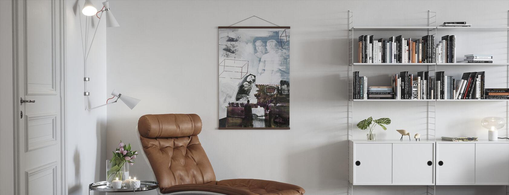 Tracer - Robert Rauschenberg - Poster - Wohnzimmer