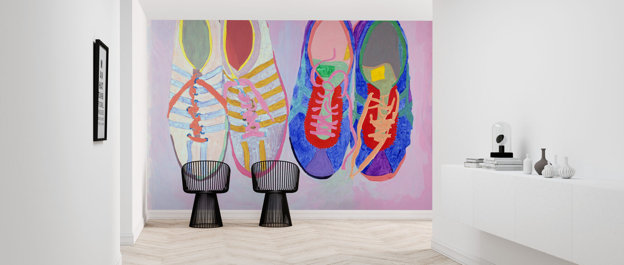Shoe Series Ten - Marilee Whitehouse-Holm - Wallpaper - Hallway