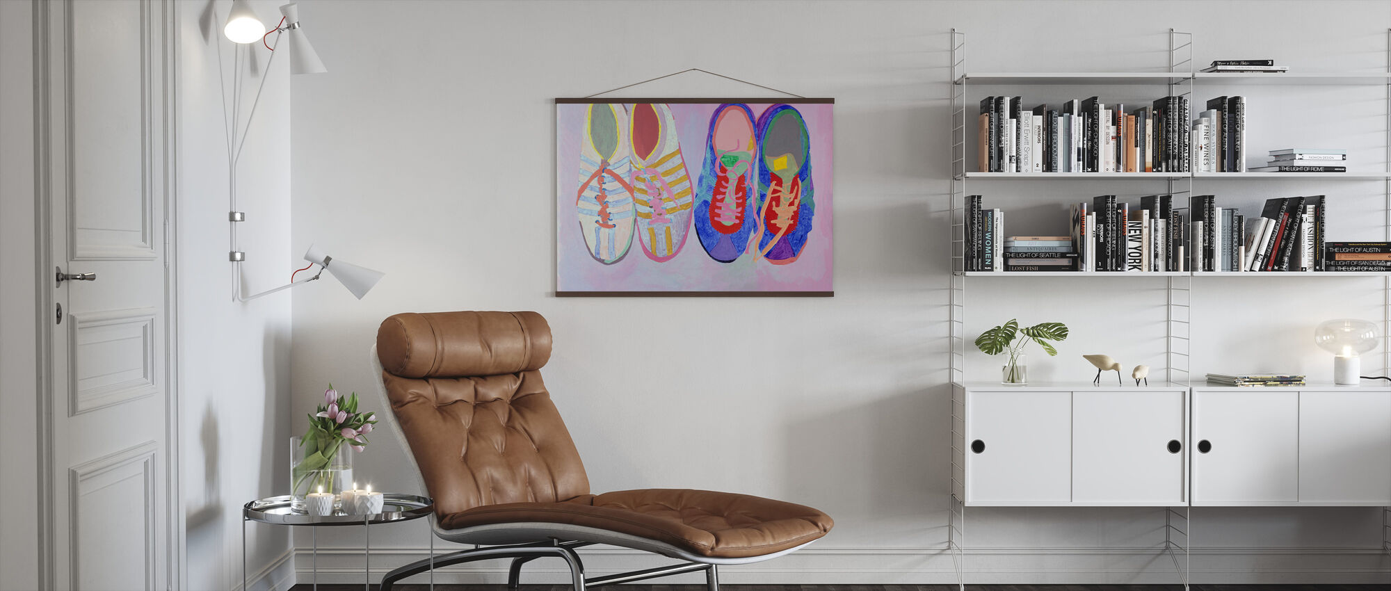Shoe Series Ten - Marilee Whitehouse-Holm - Poster - Living Room