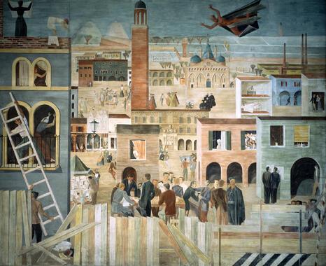 Allegory of the Students of Padua - Giorgio Perissinotto - Wallpaper