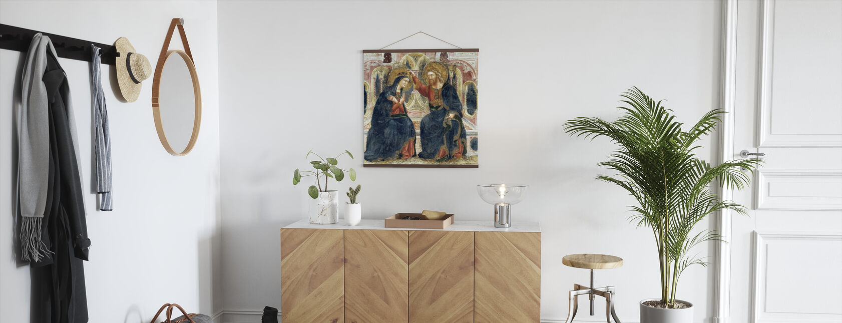 Coronation of the Virgin - Guariento di Arpo - Poster - Hallway