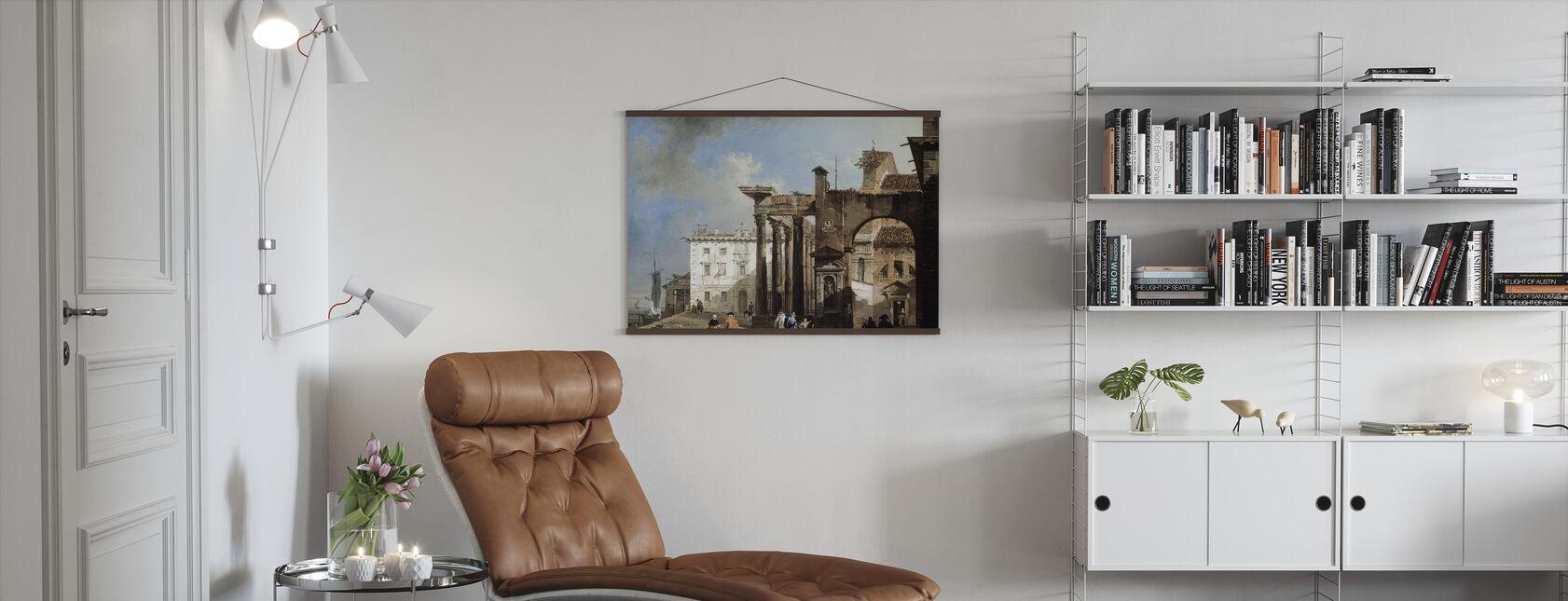 San Lorenzos pelare - Giovanni Migliara - Poster - Vardagsrum