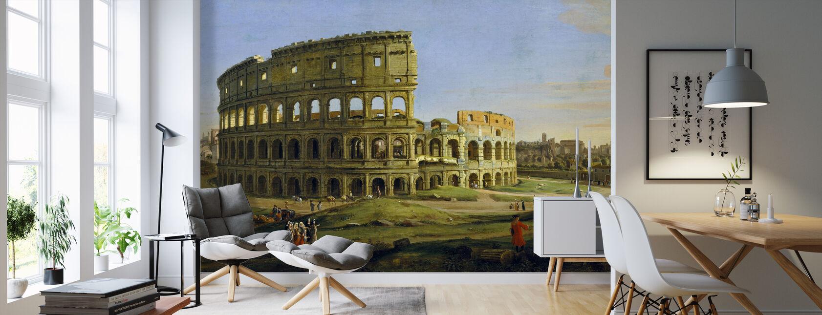 Colosseum - Gaspar van Wittel - Behang - Woonkamer