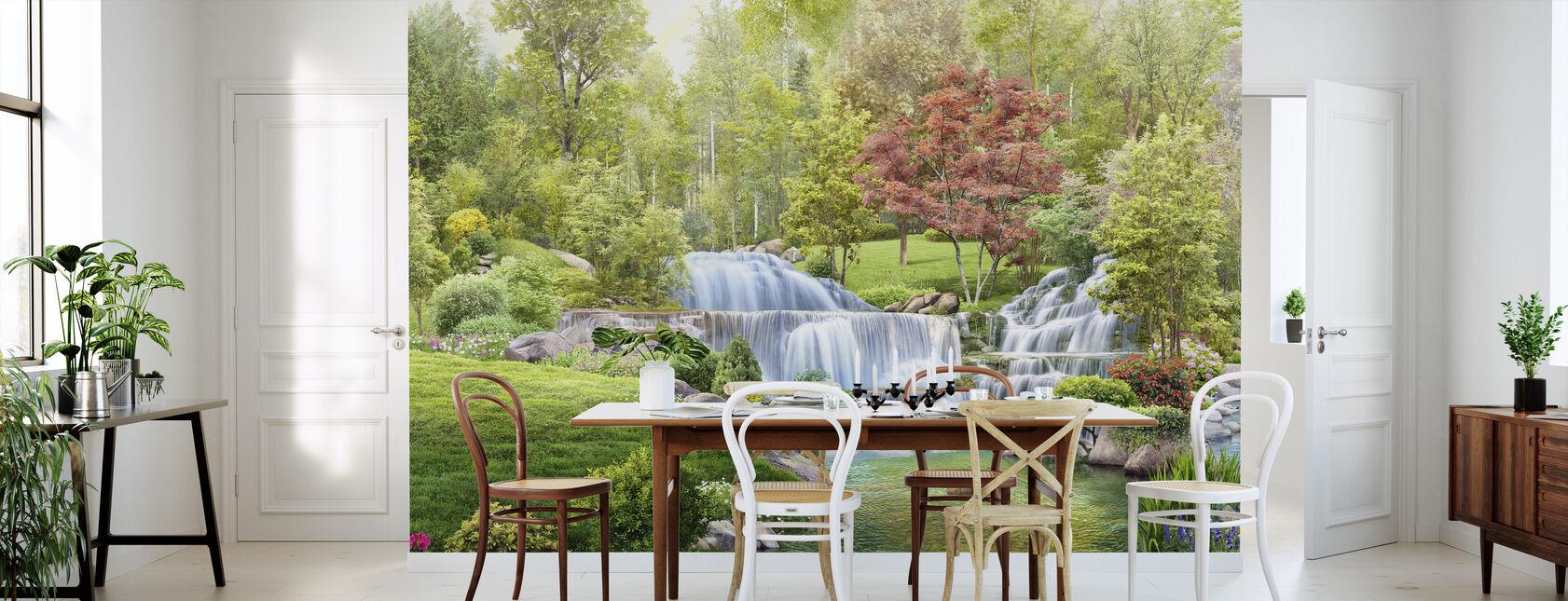 Paradise Garden - Wallpaper - Kitchen