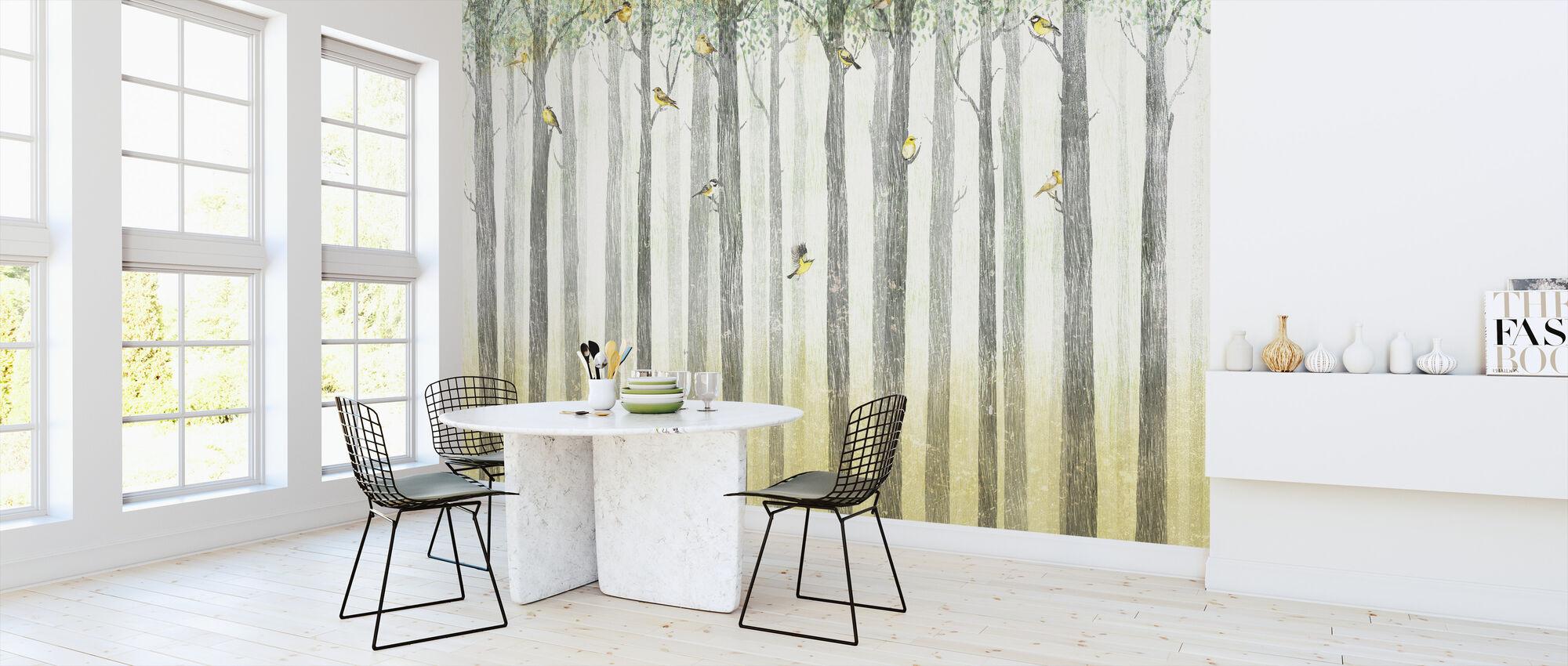 Bird Residence - Daylight - Wallpaper - Kitchen