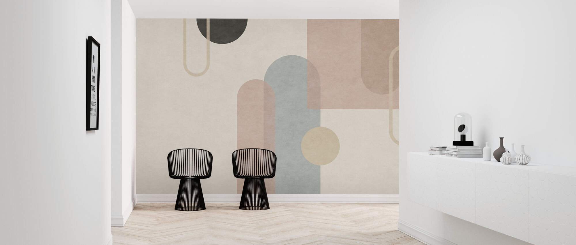 Organic Formation - Wallpaper - Hallway