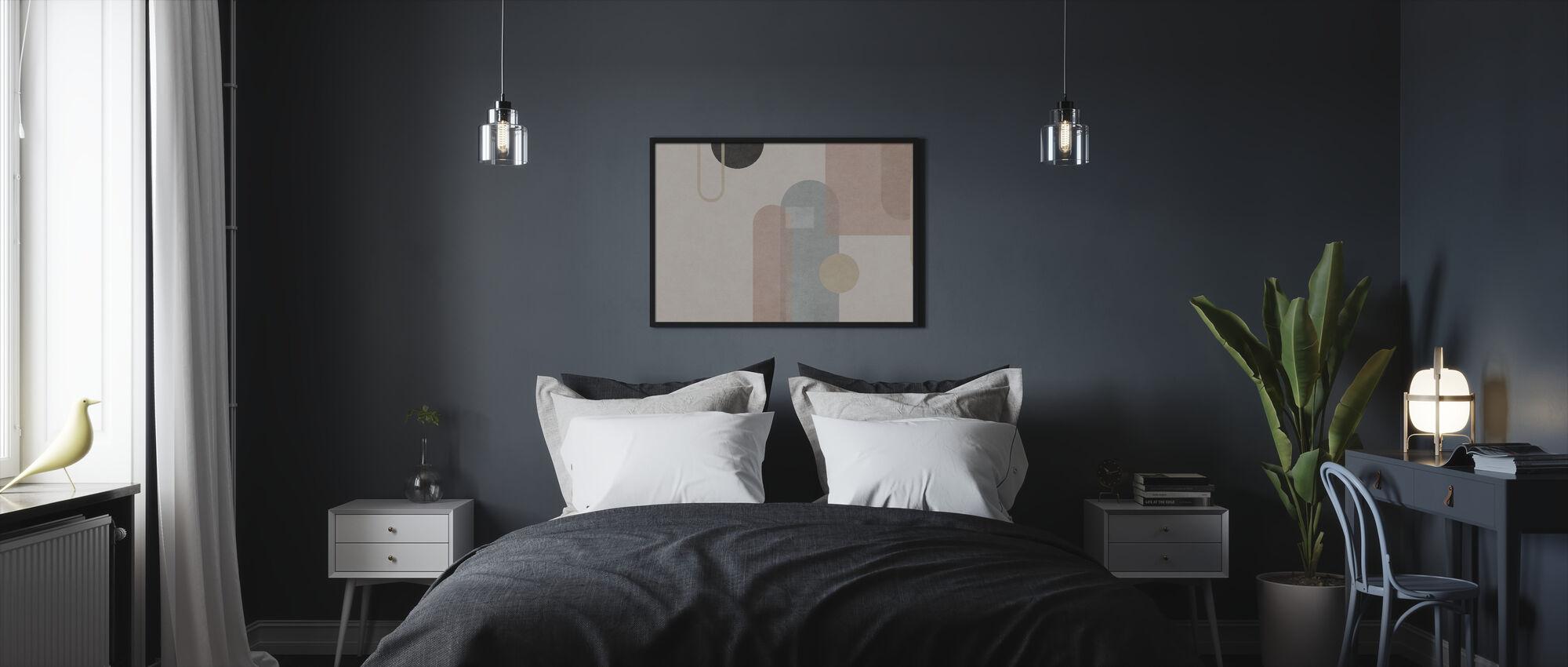 Organic Formation - Framed print - Bedroom
