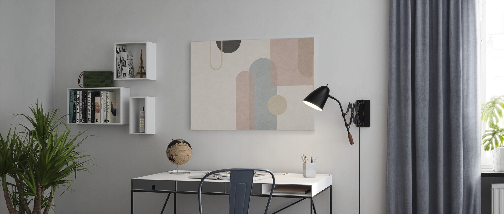 Organische Vorming - Canvas print - Kantoor