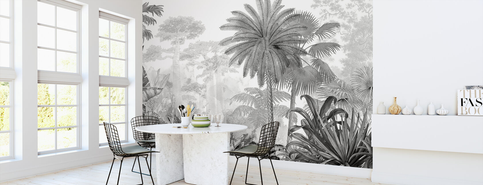 Tropical Eden - Wallpaper - Kitchen