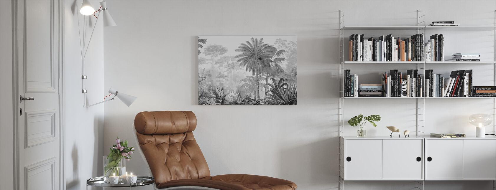 Tropical Eden - Canvas print - Living Room