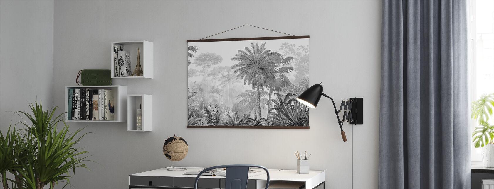 Eden Tropical - Affiche - Bureau