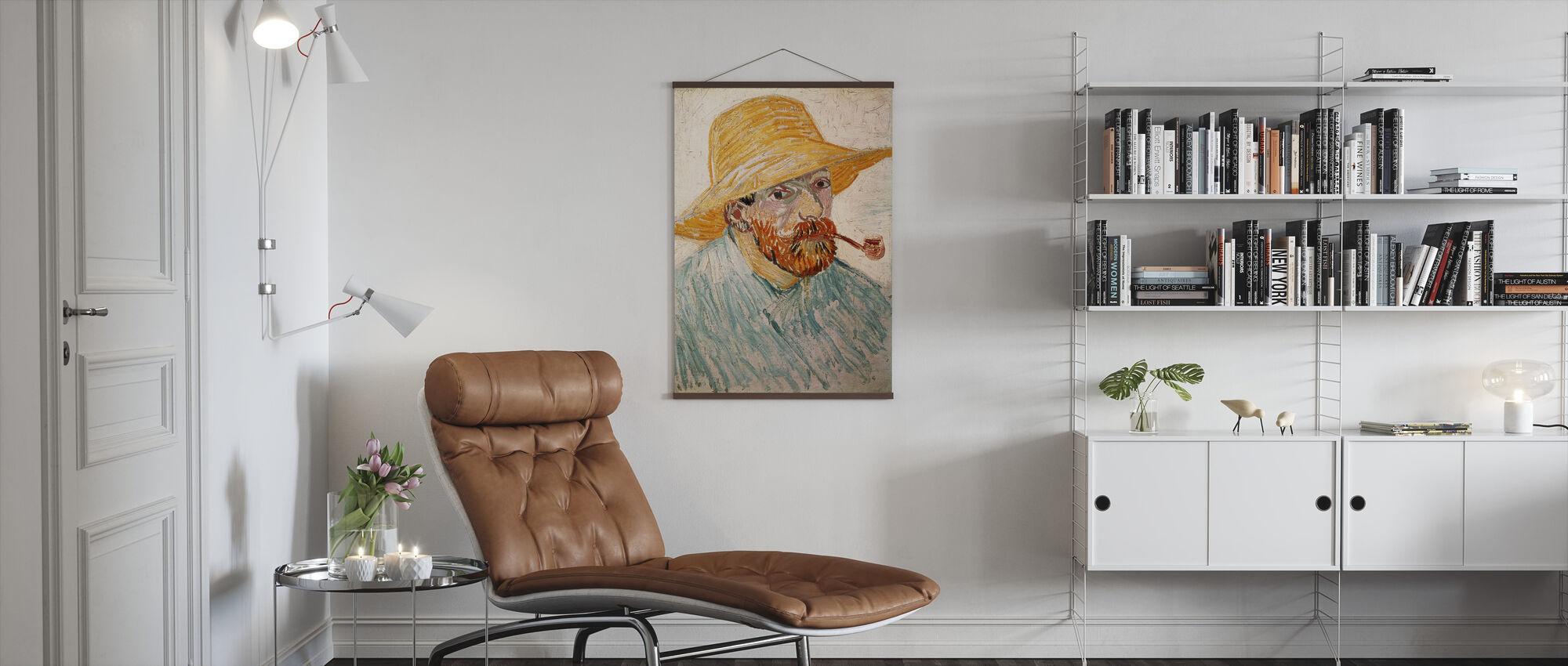 Self Portrait - Vincent van Gogh - Poster - Living Room