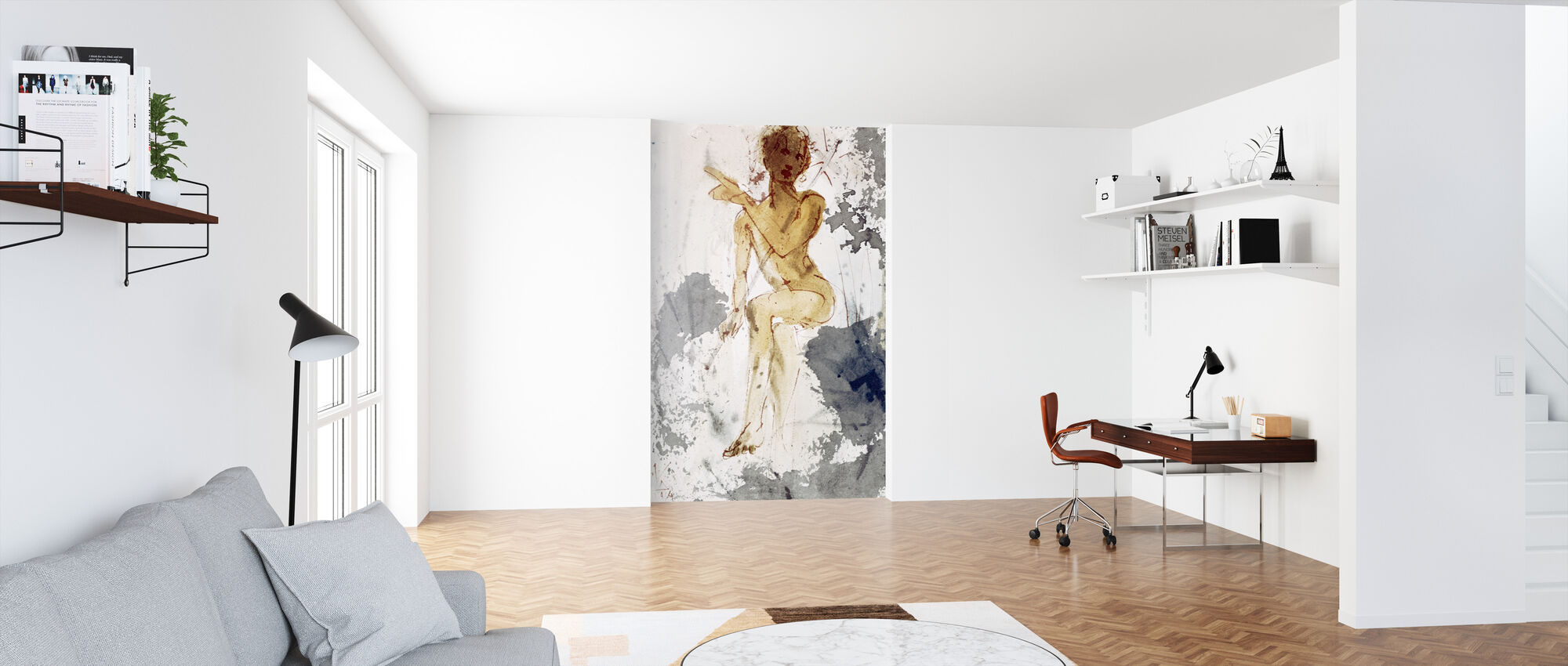 Saint John the Baptist - Salvador Dali - Wallpaper - Office